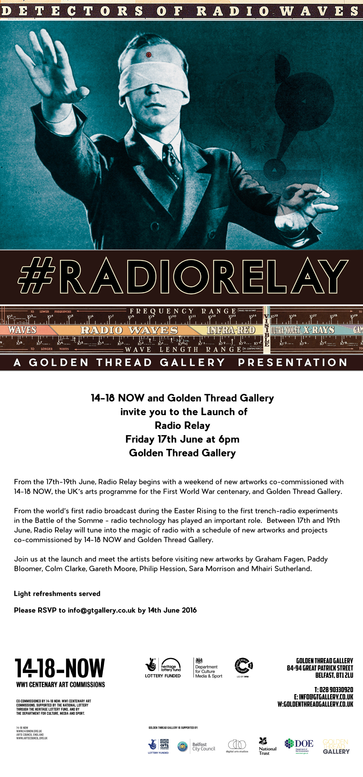 RADIO RELAY: Launch Friday 17th June at 6pm