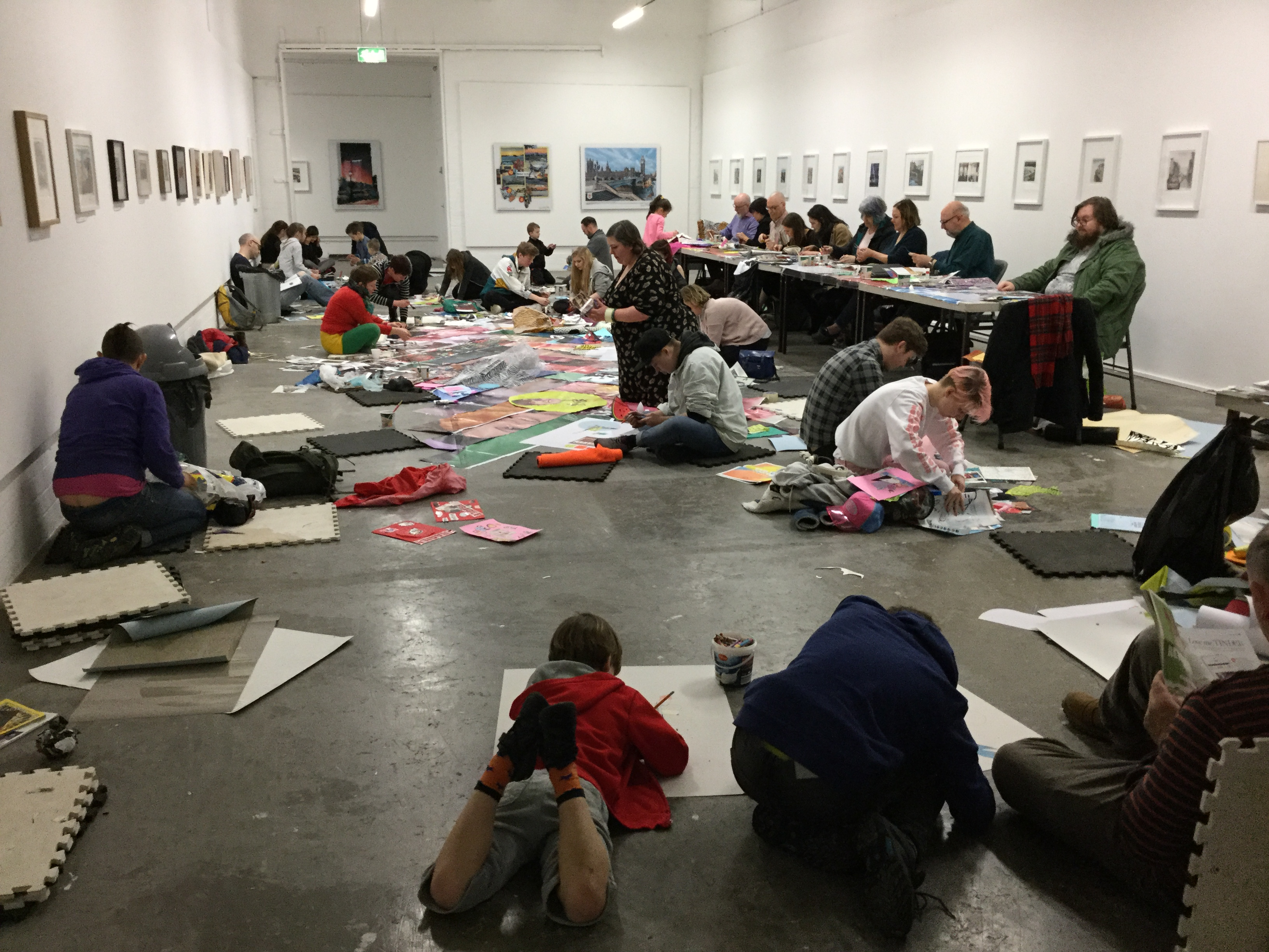 Donations help us to make art accessible to everyone free charge