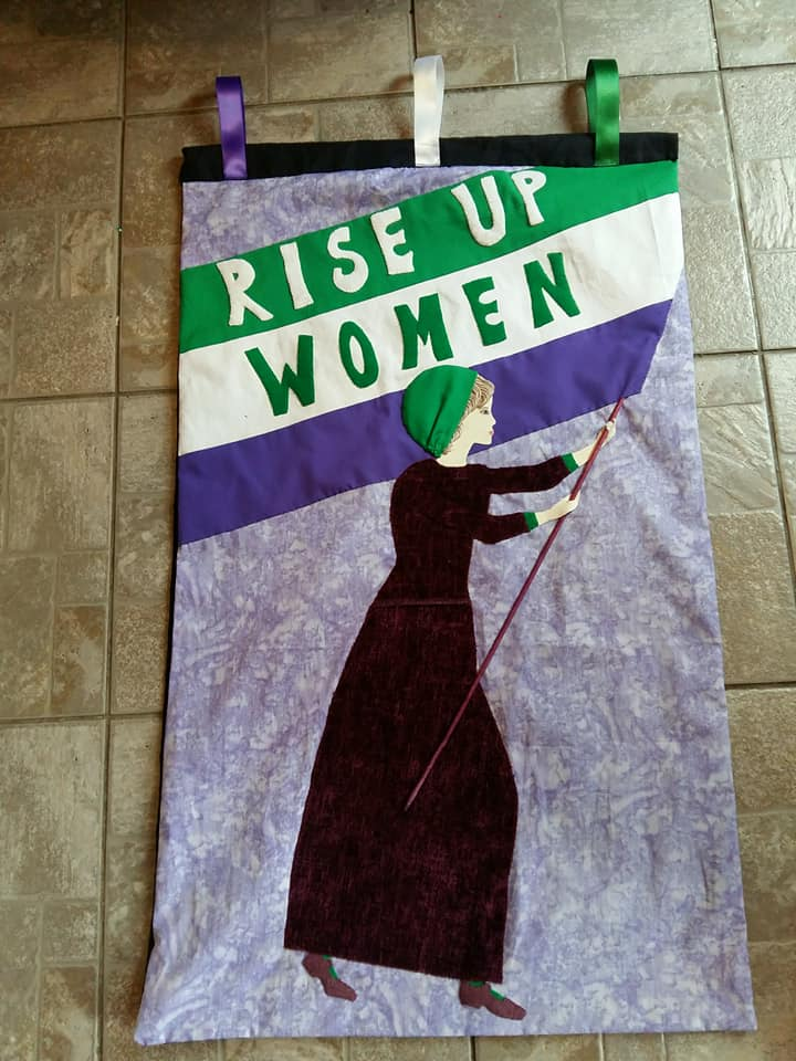 Processions 2018 March with The Golden Thread Gallery