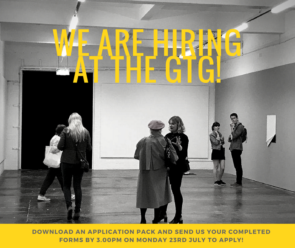 Exhibitions Assistant (maternity cover) position available