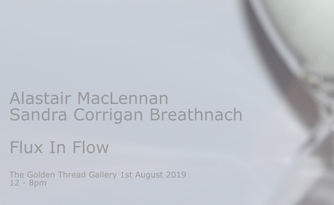 'Flux In Flow' Collaborative Performance Alastair MacLennan & Sandra Corrigan Breathnach