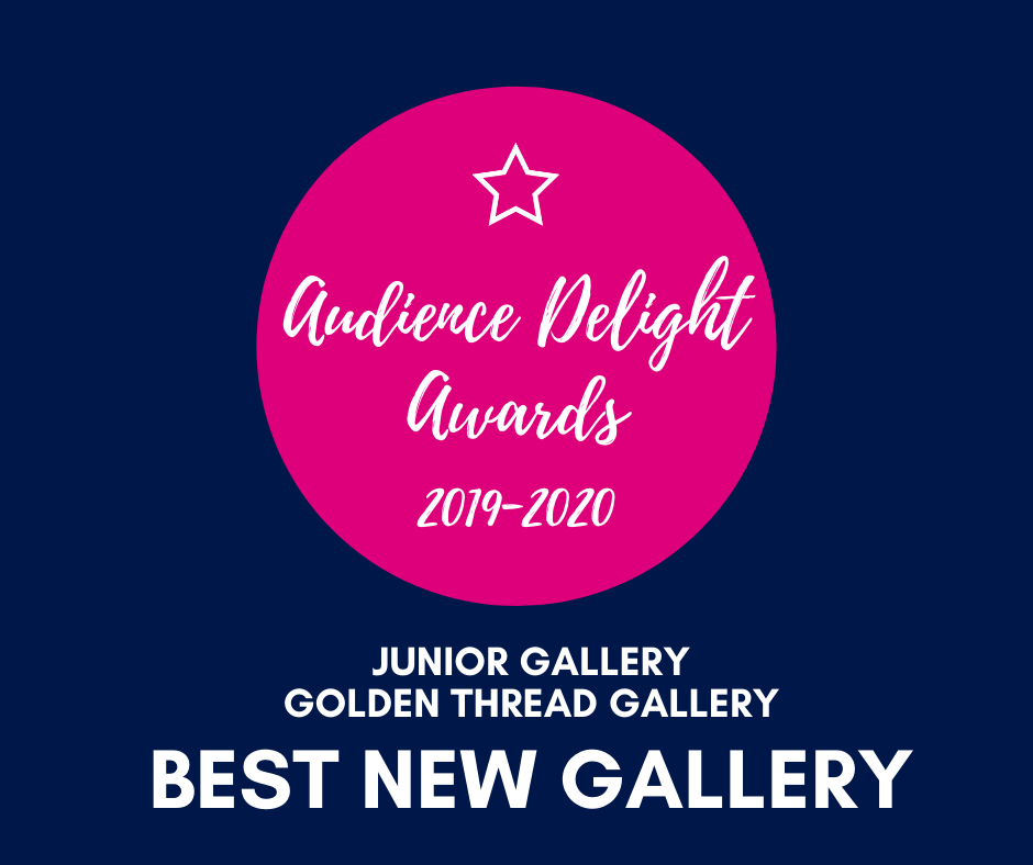 GTG Junior Gallery wins 'Best New Gallery' Audience Delight Award!