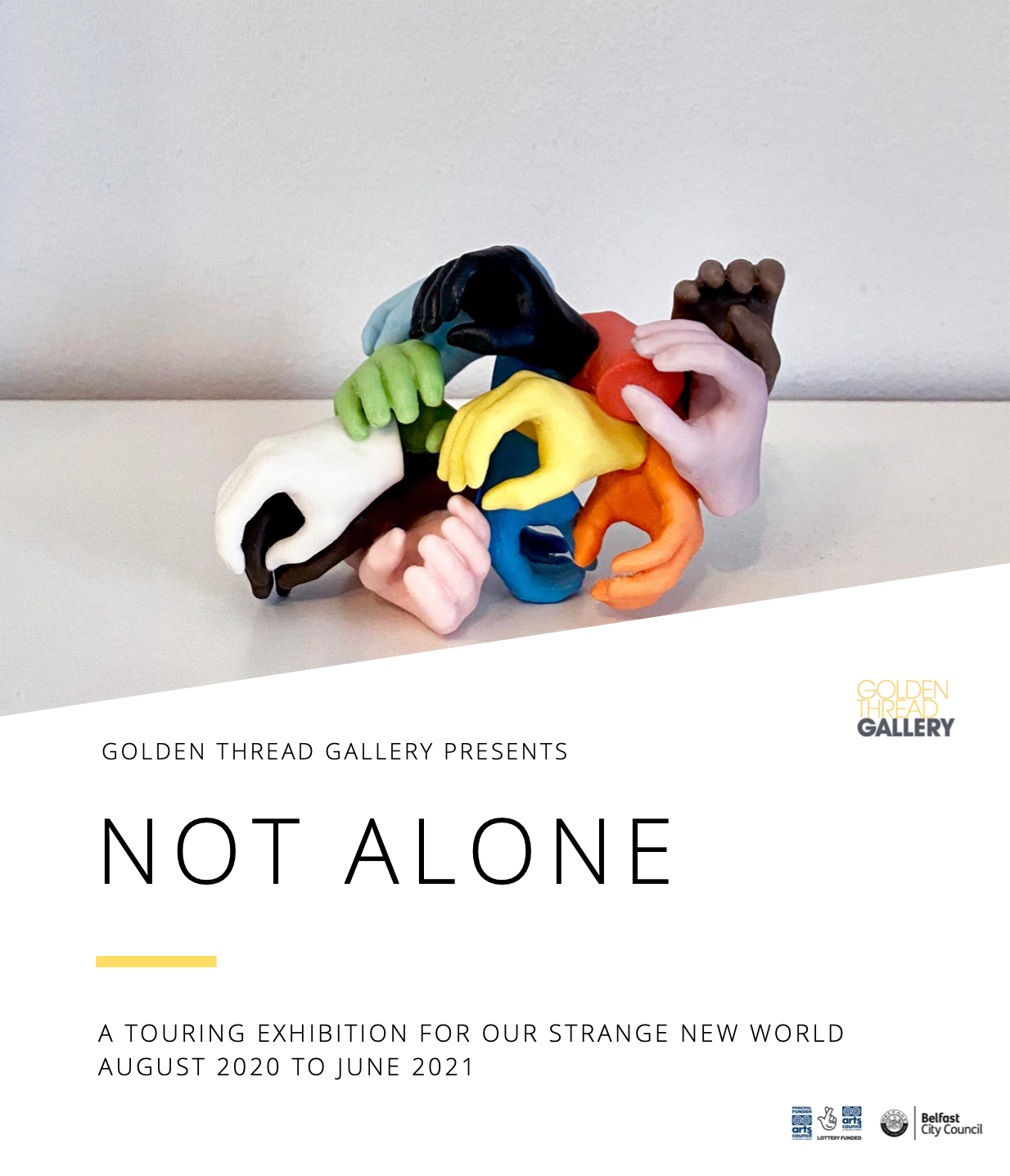 Not Alone – catch up with our exhibition's incredible journey so far!
