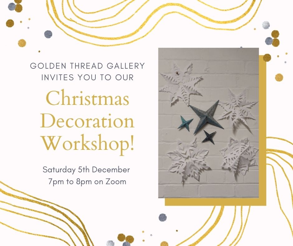GTG Christmas Workshop for Grown Ups!
