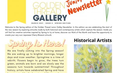 Junior Gallery Newsletter: Spring Edition!
