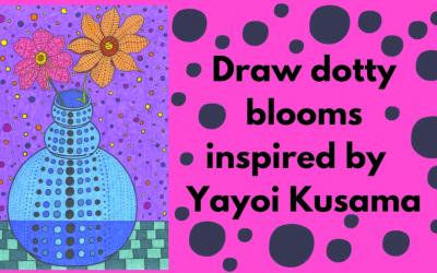 Draw like Yayoi Kusama with Chloe Morrison