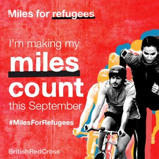 GTG is going the extra mile for refugees this month!